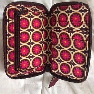 Vera Bradley Wallet and Cell Phone Holder